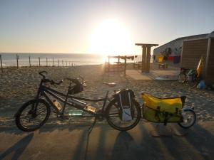 La Vélodysée et ses jolies plages