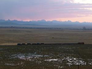 Unique voie ferrée marchande du Pérou (LIMA-CERRO DE PASCO)