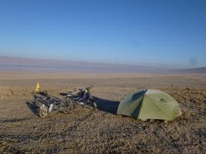 Gelée matinale à 4100 mètres... JUNIN
