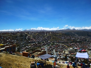 La Paz vue de El Alto